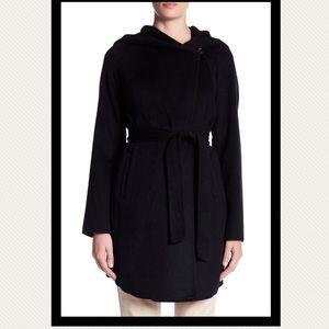 Michael Michael Kors Wool-Blend Wrap Coat